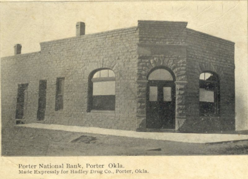 Porter National Bank - Days Gone By