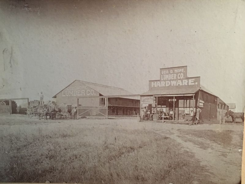 George D Hope Lumber Yard
